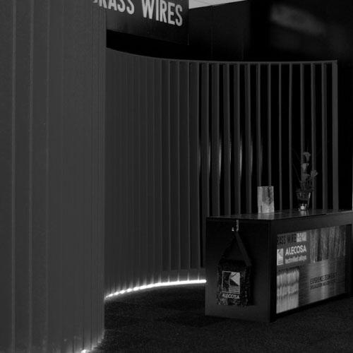 disseny i construcció stand - Alecosa Fira Wire Düsseldorf 2014