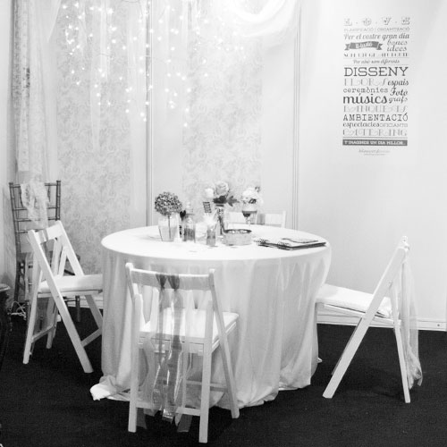 disseny i decoració stand - Blauverd Events   Tot Nuvis