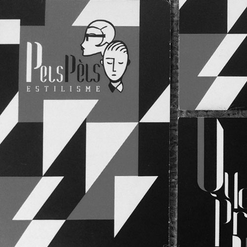 disseny de targetes comercials - Pels Pèls