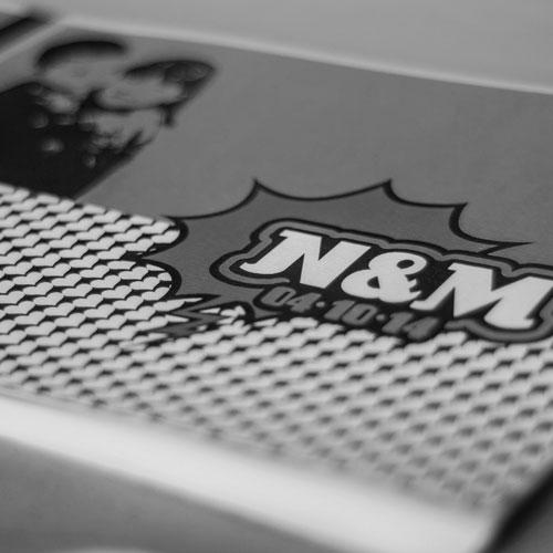 disseny de bodes personalitzades - N&M