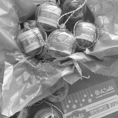 packaging per regals promocionals nadal - La Saleta