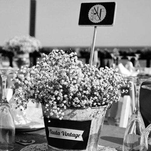 decoración de bodas personalizadas Tarragona - N&F