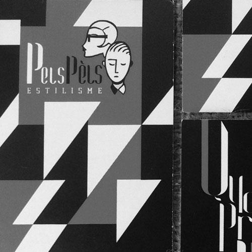 diseño de tarjetas comerciales - Pels Pèls