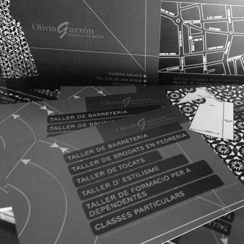 diseño gráfico de flyers - Olivia Garzón