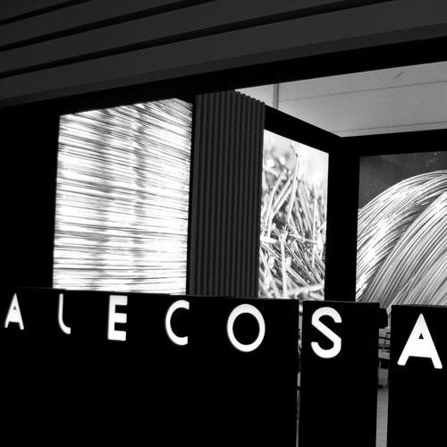 diseño y construcción de stand - Alecosa 2013